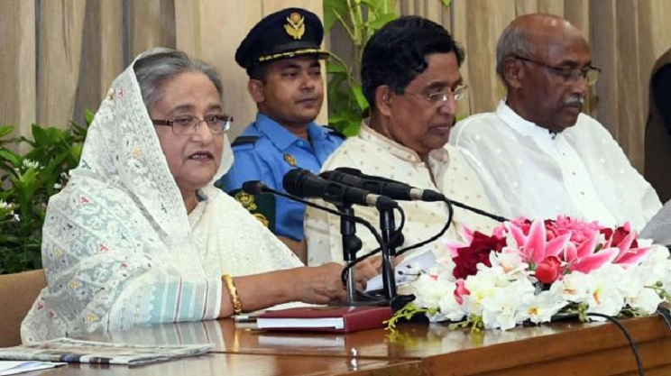 Dividing any party isn't my policy, says Prime Minister Sheikh Hasina