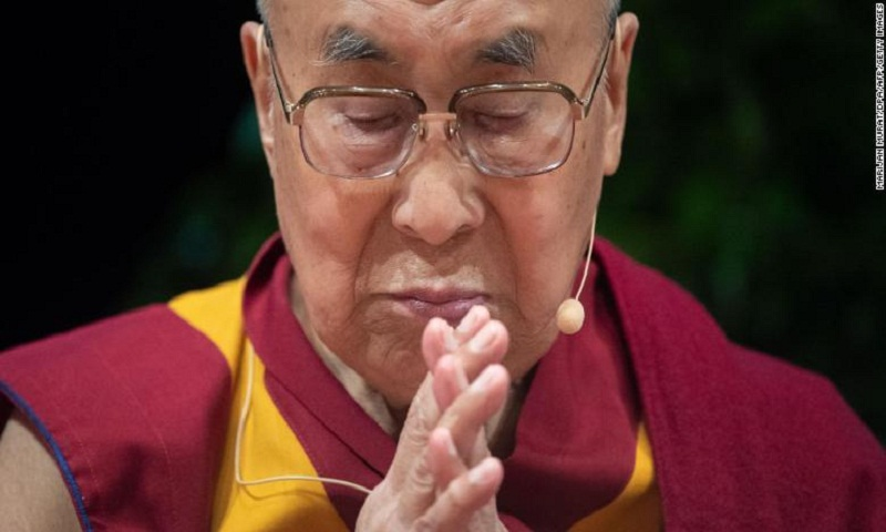 Dalai Lama returns to north India base after hospitalization