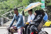 Heat wave may abate as day temperature will fall
