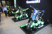 Japanese Kawasaki's first flagship showroom & service center at Eskaton