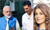 Twinkle Khanna clarifies reaction to PM Modi's joke, says only party she endorses involves vodka, hangover