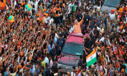 PM Modi files nomination papers in India's general election