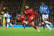 Liverpool wins 5-0 as Salah, Mane vie for Golden Boot