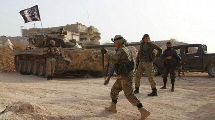 Militant attacks kill 22 government troops in north Syria