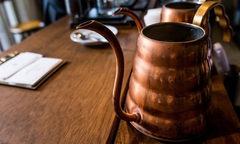 Store water in a copper vessel for good health