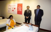 'Blood donation drive' at Radisson Blu Dhaka Water Garden