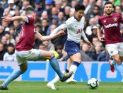 Tired Spurs stunned by Hammers, Cardiff in relegation danger