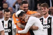 Ronaldo '1,000 percent' committed as Juventus claim eighth successive title