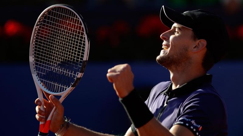 Thiem upsets Nadal to reach Barcelona Open final