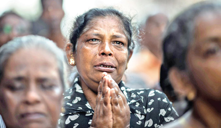 Lankan churches shut as worshippers mourn one week after attacks