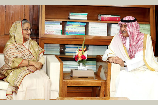 Saudi envoy pays farewell call on Prime Minister