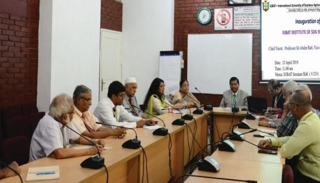 IUBAT launches Institute of SDG Studies