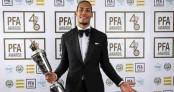 Liverpool's Van Dijk wins PFA player of year award