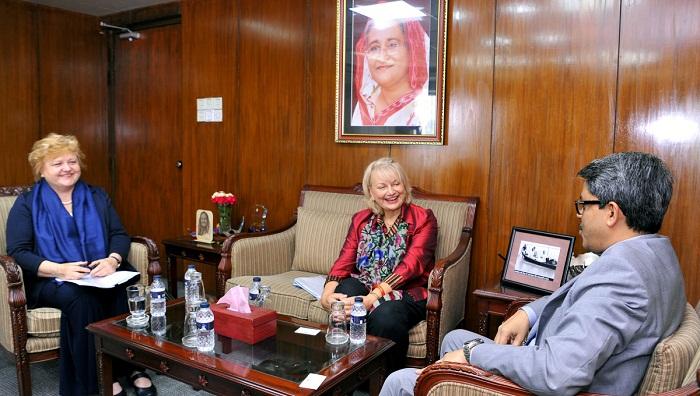 Australian envoy lauds Hasina's leadership
