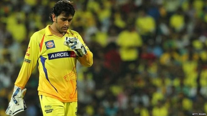 'Genius' Dhoni sees Chennai to victory in top of table IPL clash