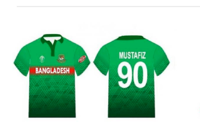 Tigers' green jersey finalised with red strip at the front