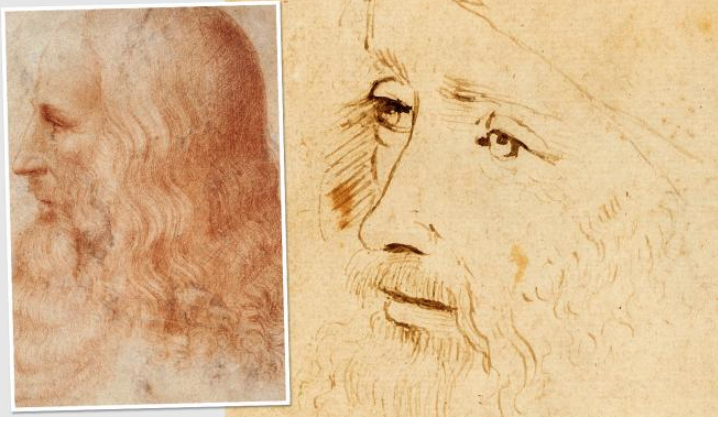 Newly identified Leonardo portrait on show in London