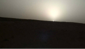 NASA's InSight lander captures sunrise, sunset on Mars