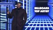 Drake breaks Taylor Swift's record at Billboard Music Awards