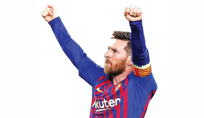 Messi reaches 600-goal milestone after Ronaldo