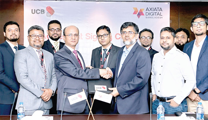 UCB, Axiata Digital ink deal