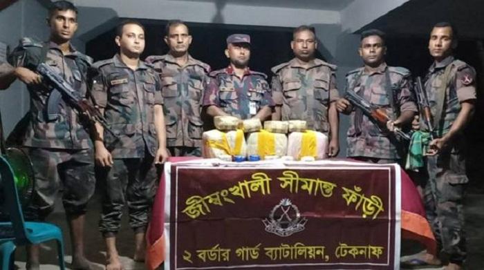 BGB seizes 2 lakh yaba pills in Teknaf