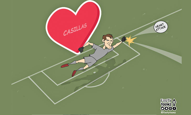 What a Save by Iker Casillas!