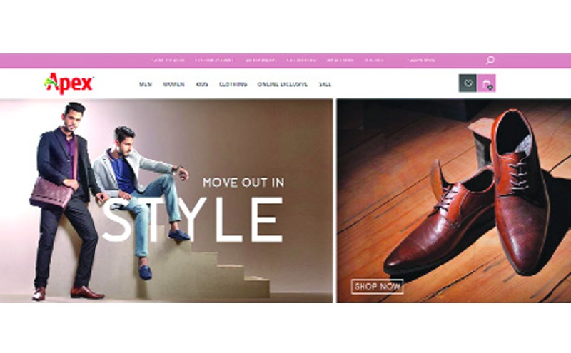 Apex relaunches e-commerce site
