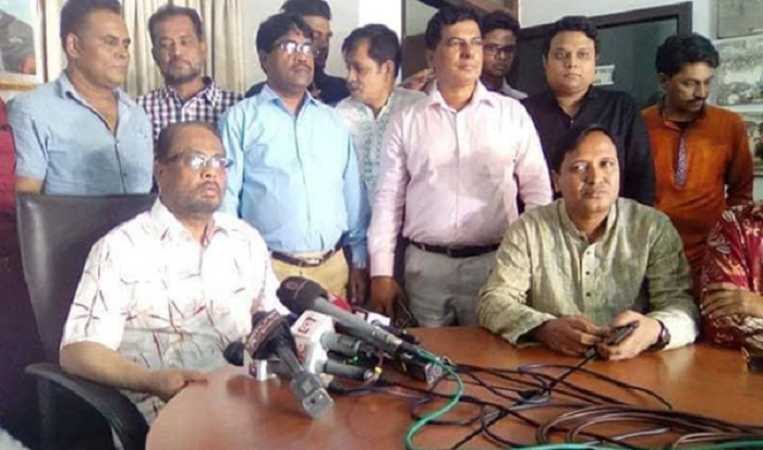 GM Quader appears alone in his maiden briefing as JP acting chairman