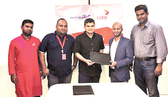 Paper Fly partners with Robi