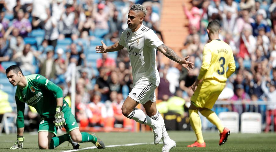 Mariano double helps Madrid hold off Villarreal
