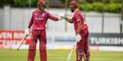 West Indies' ODI record 365-run opening stand sets up Ireland win