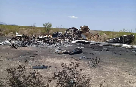 Private jet crashes in Mexico, 13 feared dead