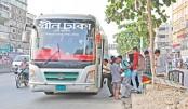 Green Dhaka buses turn hazardous