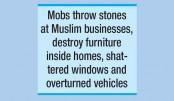 Christian-Muslim clashes rock Sri Lanka town
