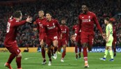 Liverpool 'giants' stun Barca to make Champions League final