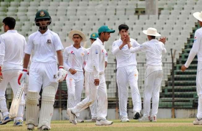 Bangladesh U16 wins three-day series against Pakistan