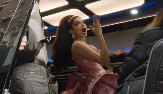 Deepika Padukone's epic reaction to Lady Gaga's Met Gala striptease