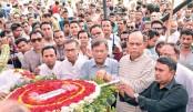 Last respect to Subir Nandi