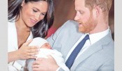 World gets first glimpse of Meghan's royal baby