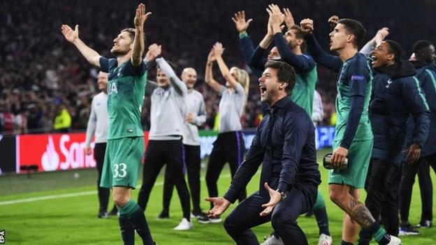 Tottenham reaches Champions League final after stunning comeback against Ajax