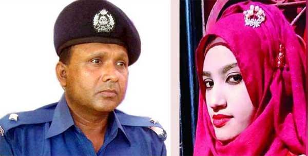 Nusrat murder: Sonagazi OC suspended