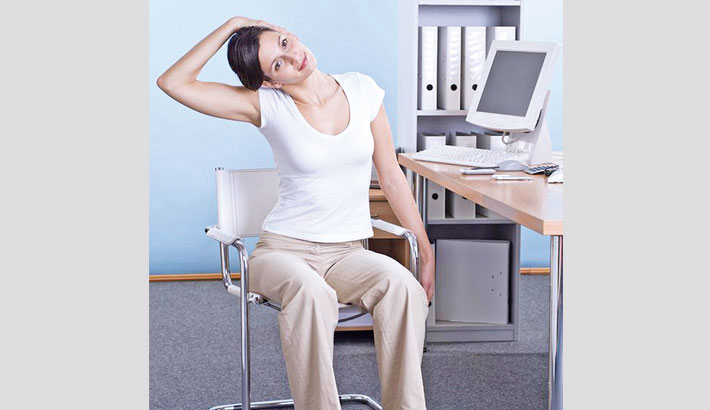 Start Doing Quick Stretches at Work!