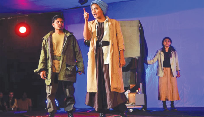 Curtain Falls On JnU Theatre Fest