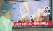 N Korea fires missiles as US envoy visits Seoul