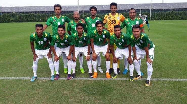 Bangladesh Football team to play 2 friendlies in Thailand ahead of Laos test