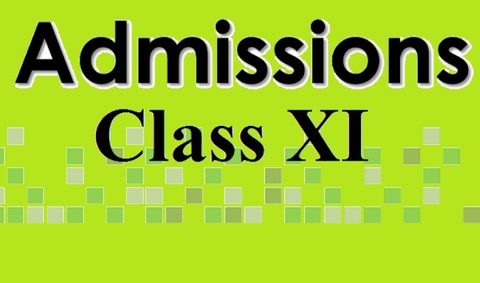 Class XI admission begins May 12