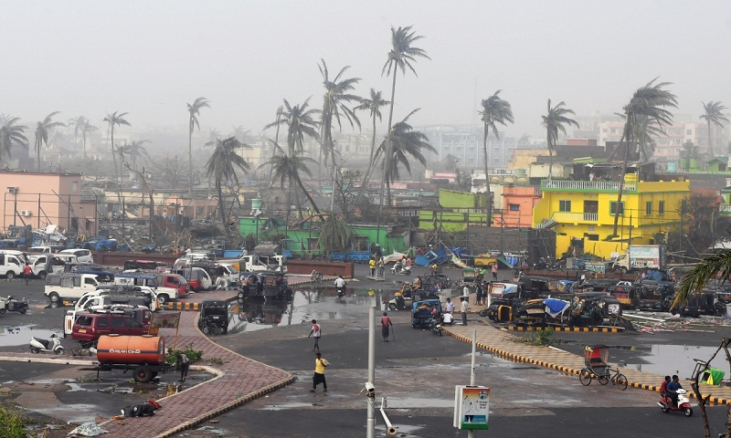 At least 1.51 crore people affected by Cyclone Fani in India Odisha