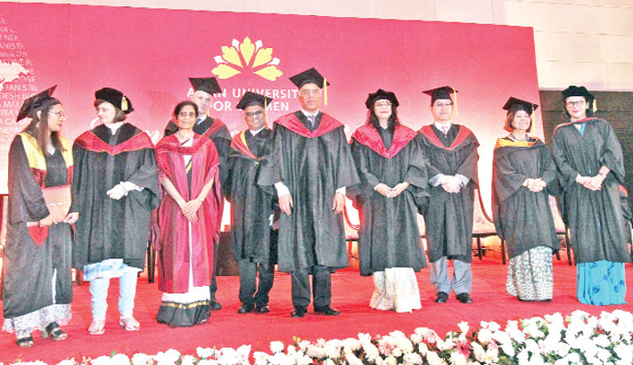 AUW seventh commencement ceremony held