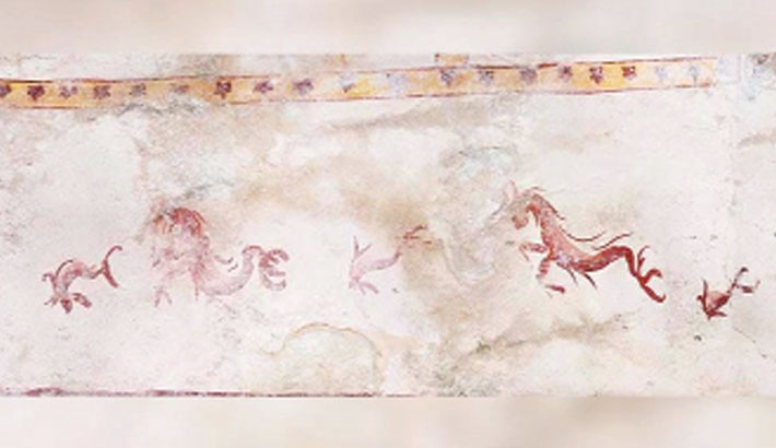 Secret chamber uncovered 2,000 years at Nero palace